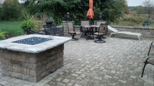 Goetz patio installation Valparaiso