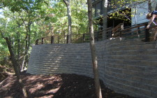 retaining wall valparaiso