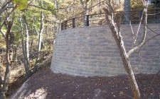 northwest Indiana retaining wall