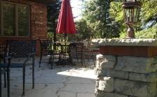 Goetz patio installation