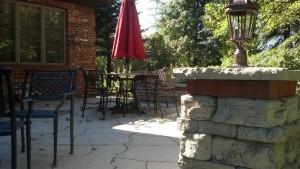 Goetz patio installation
