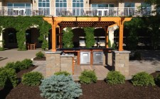 outdoor bar installation Indiana