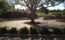 paver patio landscaping